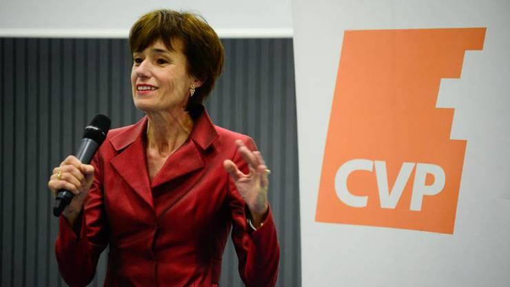 Ruth Humbel will für die CVP im Herbst 2015 in den Ständerat.