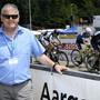 OK-Chef René Huber steht auch im kommenden Jahr an der Bande der Radsporttage Gippingen. Seine Zukunft als Renndirektor und die des Traditionsanlasses danach sind noch ungewiss.