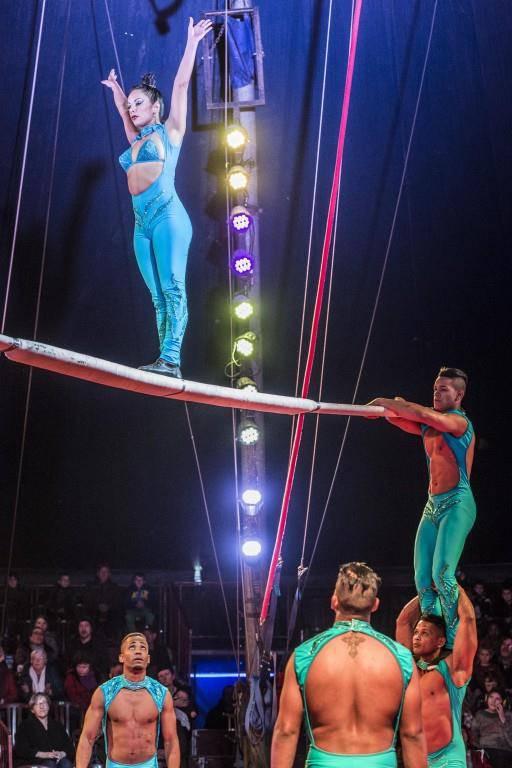 Die Vorführungen im Circus Royal