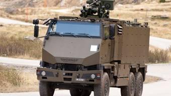 Ein gepanzerter Duro GMTF der Schweizer Armee.