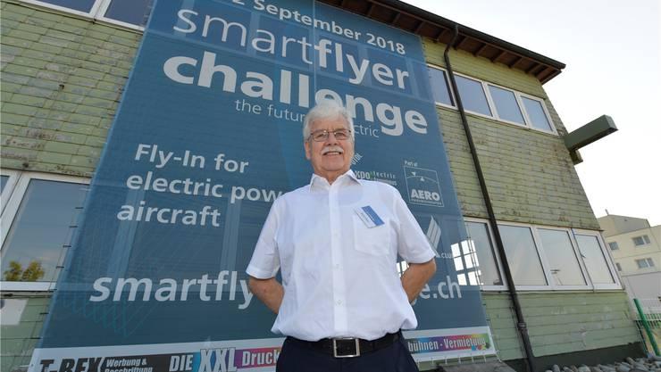 Der ehemalige Flughafenchef René Meier ist eine treibende Kraft der 2. Smartflyer-Challenge.