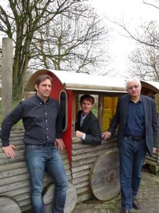Marcel Heeg, Othmar Bamert und Markus Strebel