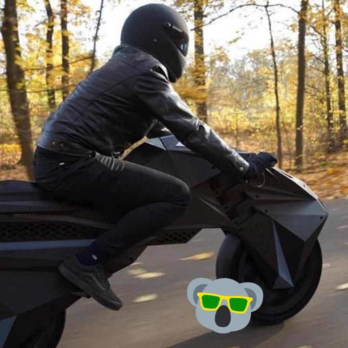 Deutsche entwickeln E-Motorrad aus dem 3D-Drucker