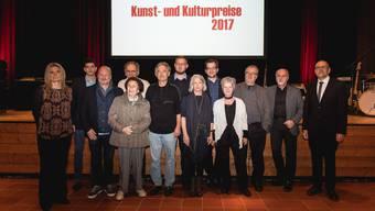 Preisverleihungsfeier Kunst- und Kulturpreise