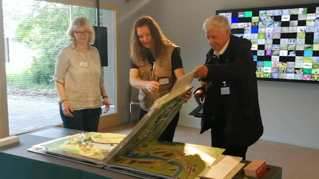 Erste Einblicke ins neue Naturzentrum am Klingnauer Stausee