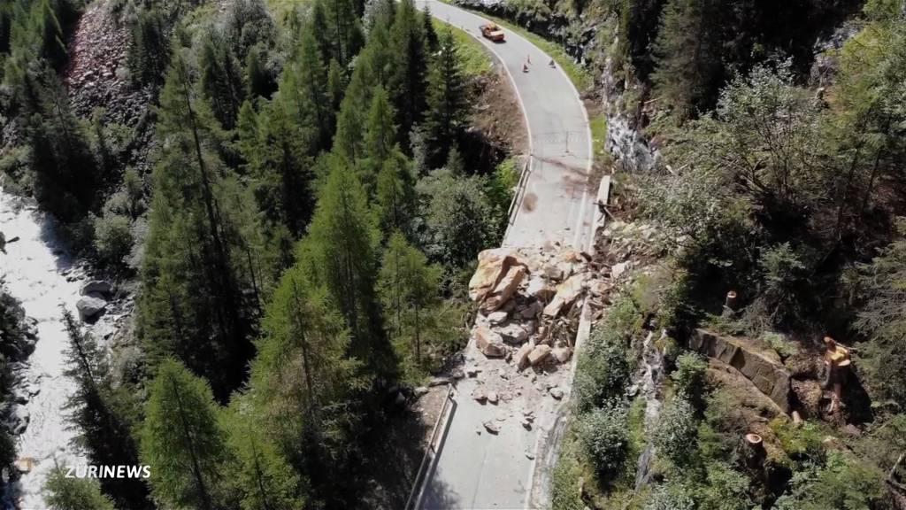 Wanderwege im Glarnerland gesperrt wegen Steinschlaggefahr