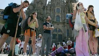 Ziel der Jakobsweg-Pilger - Santiago de Compostela