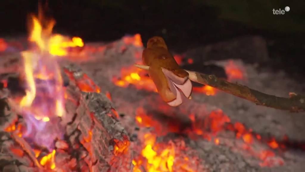 mit dem Feuer