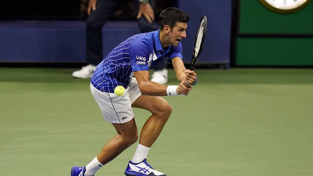 Novak Djokovic ist in diesem Jahr noch ungeschlagen.