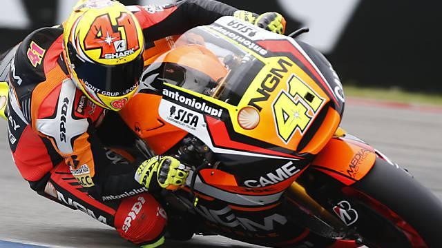 Aleix Espargaro fährt in der kommenden Saison auf einer Suzuki