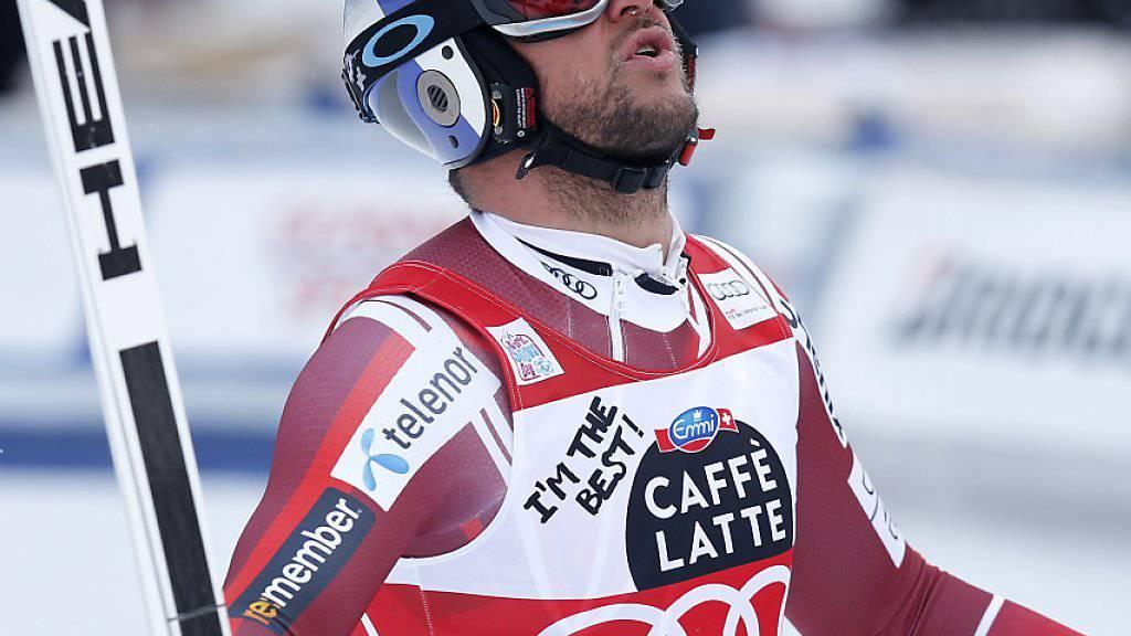 Steht nach seiner schweren Knieverletzung im vergangenen Januar in Kitzbühel vor dem Comeback: Aksel Svindal