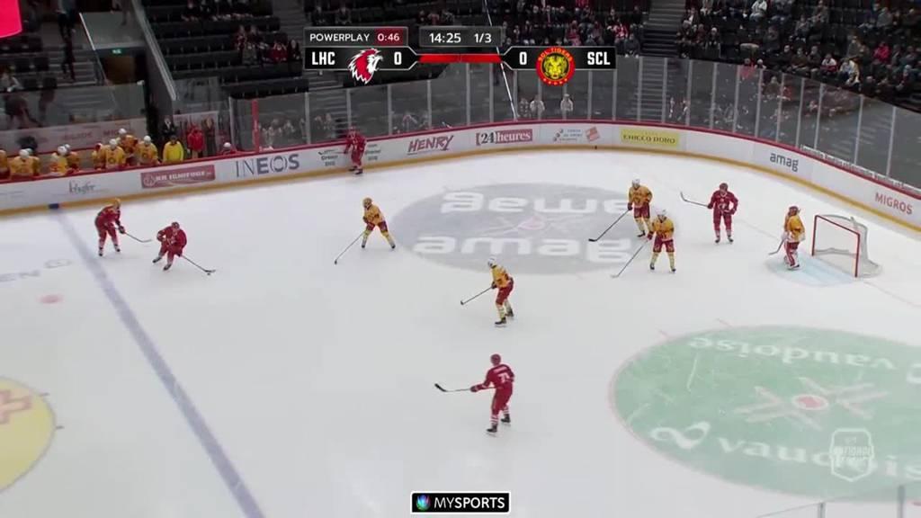 Lausanne gewinnt gegen die SCL Tigers mit 5:2 - die Highlights