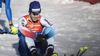 War es sein letztes WM-Rennen? Der Solothurner Tim Hug in Seefeld.