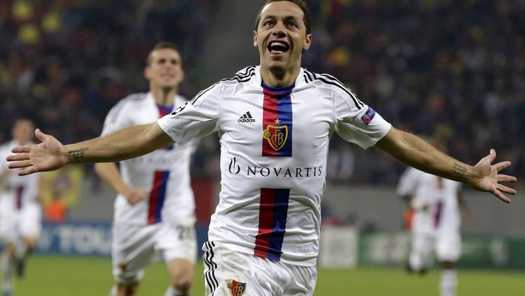 Marcelo Diaz jubelt (noch) für den FCB