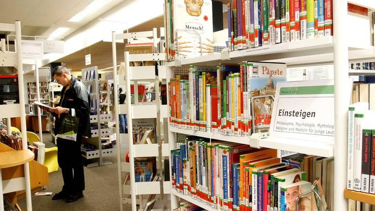 Jahres-PK ABG. Bibliothek GGG Hauptstelle Schmidenhof. Foto niz