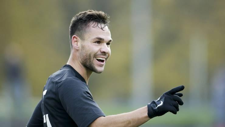 Patrick Rossini ist in dieser Saison der bislang treffsicherste Stürmer des FC Aarau.