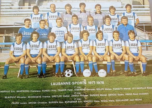 «Fussball war damals mein Leben», sagt Hans Vögeli heute.