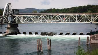 Das Wehr in Miorina: Hier wird der Pegel des Lago Maggiore reguliert.
