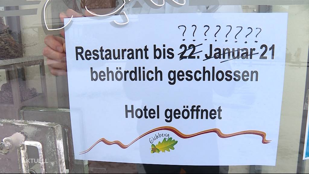 So reagieren die Gastronomen auf die mögliche Lockdown-Verlängerung