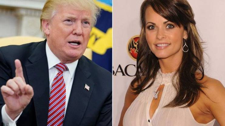 Hatten angeblich eine Affäre: Karen McDougal und Donald Trump.