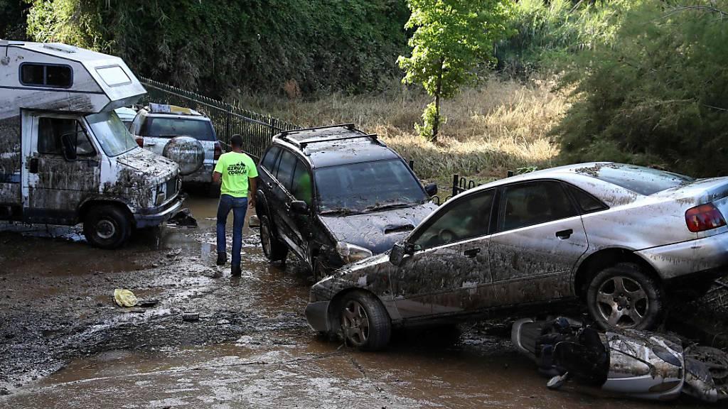 Heftiger Regen sorgt für Überschwemmungen in Teilen Frankreichs