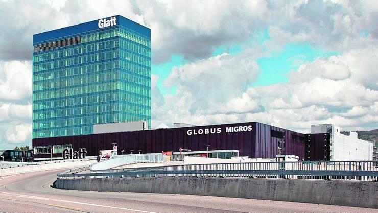 Das Glattzentrum und seine 43000 Quadratmeter Verkaufsfläche stehen zum Verkauf. (Quelle: zvg)