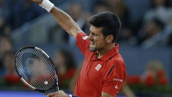 Zweiter Turniersieg in Madrid nach 2011: Novak Djokovic