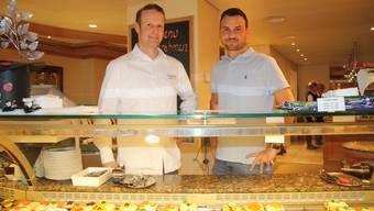 Der bisherige Geschäftsführer Andreas Schaad und der neue Inhaber Samuel Lanz spannen zusammen.