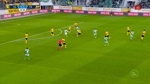 St.Gallen gegen YB