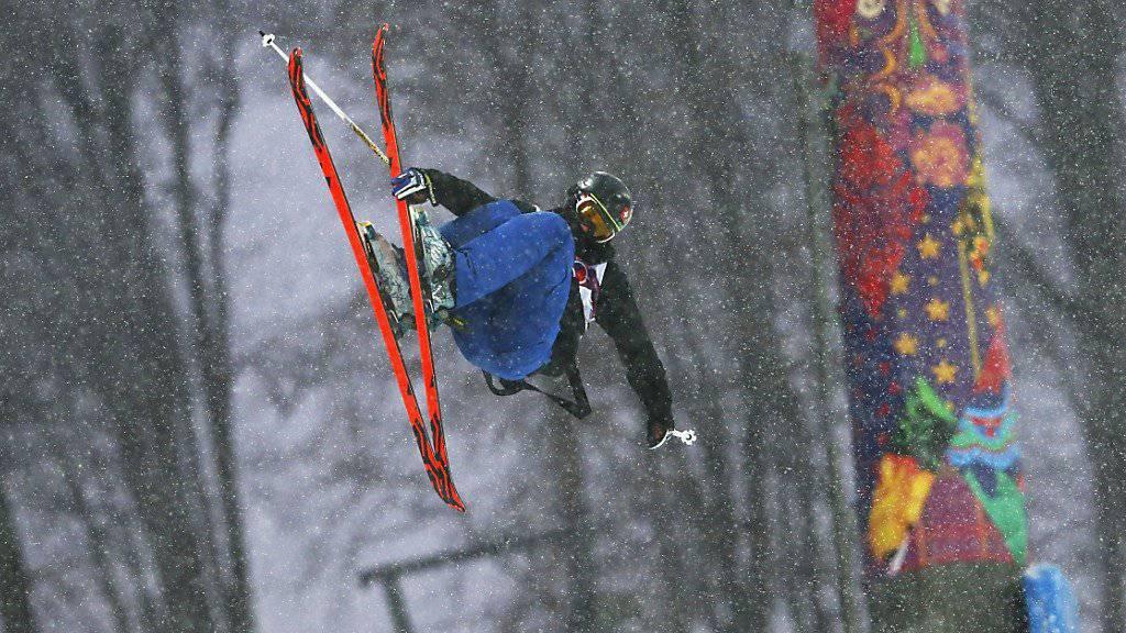 Joel Gisler errang in China seinen ersten Weltcup-Podestplatz (Archivbild)