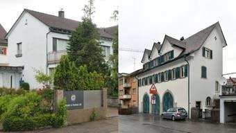 Der alte Standort an der Engelbergstrasse 41 wird aufgegeben (links im Bild), der neue Standort befindet sich an der Engelbergstrasse 7.