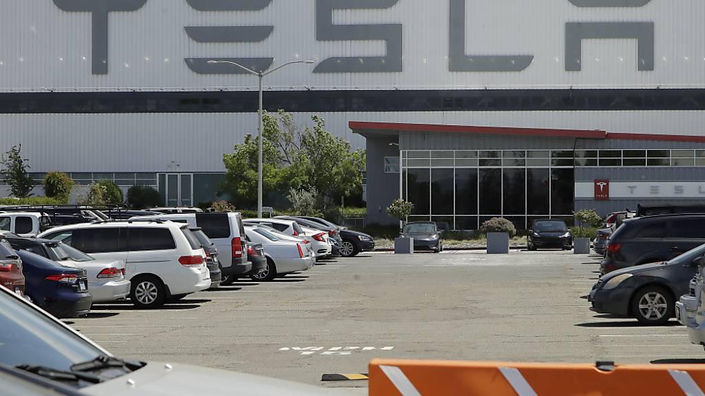 Speicher von Tesla bei Unfall in Texas mehrheitlich zerstört (Archivbild)