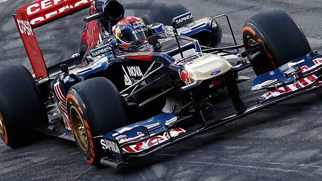 Erster echter F1-Test für den 16-jährigen Max Verstappen