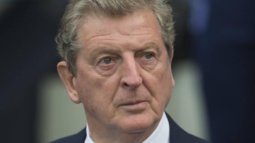 Roy Hodgson will England erstmals in einen EM-Final führen