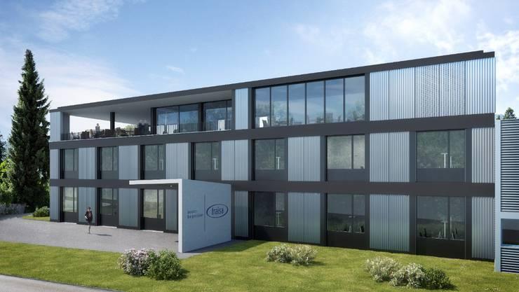 So soll der Neubau in Bellach dereinst aussehen.