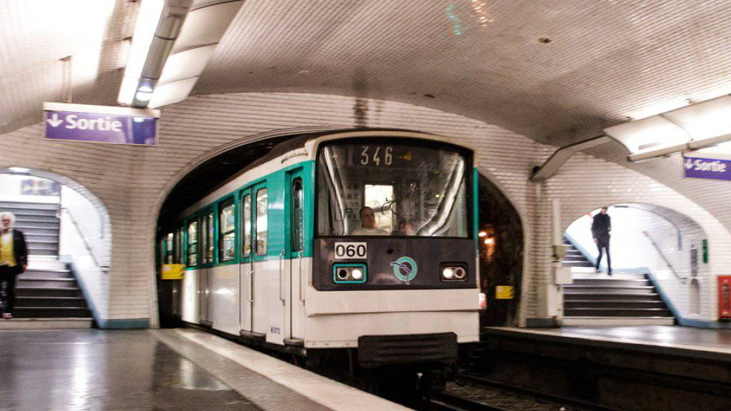 Die Metro-Linie 1 war wegen der Ziege zwischen dem Concorde-Platz und der Station Châtelet unterbrochen. (Symbolbild)