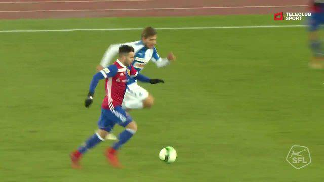 Videohighlights GC - FC Basel, 17.12.2017, 59. Minute