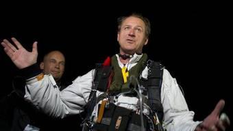 Solar-Impulse-Pilot Borschberg ist zufrieden mit der ersten Flugetappe