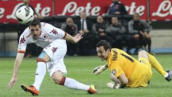 Destro trifft zweimal: Die AS Roma steht im Final