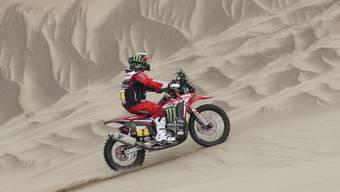 Paulo Gonçalves startete zum 13. Mal bei der Rallye Dakar