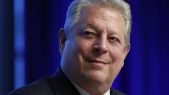 """Der Umweltaktivist und ehemalige US-Vizepräsident Al Gore wird am diesjährigen Zurich Film Festival persönlich seinen neuen Film """"An Inconvenient Sequel: Truth To Power"""" vorstellen. (Archivbild)"""