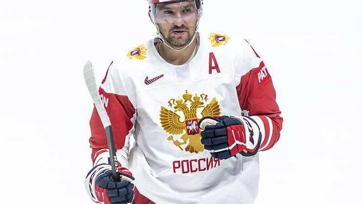 Einer von vielen Stars bei WM-Favorit Russland: Alexander Owetschkin