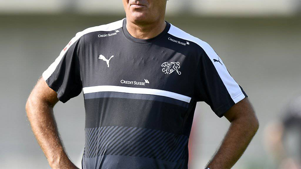 Nationaltrainer Vladimir Petkovic will mit seinem Team den positiven Weg fortführen