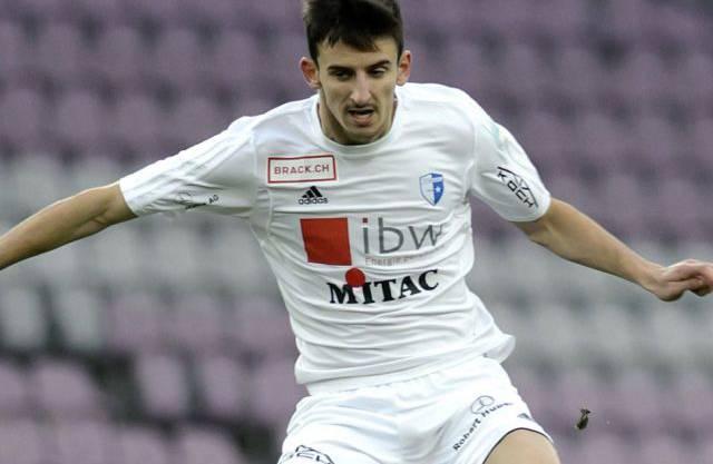 Samir Ramizi im Dress des FC Wohlen, bei dem er von 2014 bis 2016 spielte.
