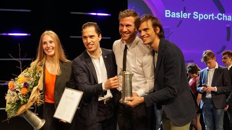 Laura Stähli ist zum zweiten Mal nach 2014 Basels Sportlerin des Jahres. Die Degenfechter um Max Heinzer, Benjamin Steffen und Michele Niggeler ist das Team des Jahres.
