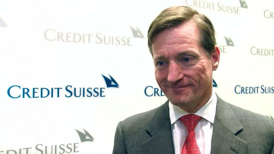 Credit-Suisse-CEO Brady Dougan ist mit dem Resultat zufrieden