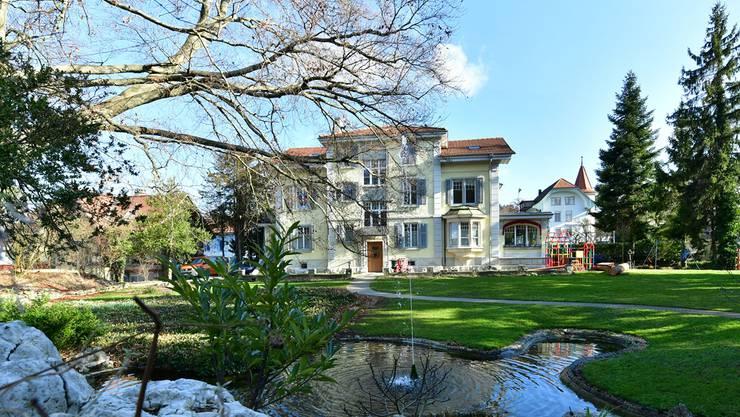 Die Tannheim-Villa, wie sie heute aussieht.