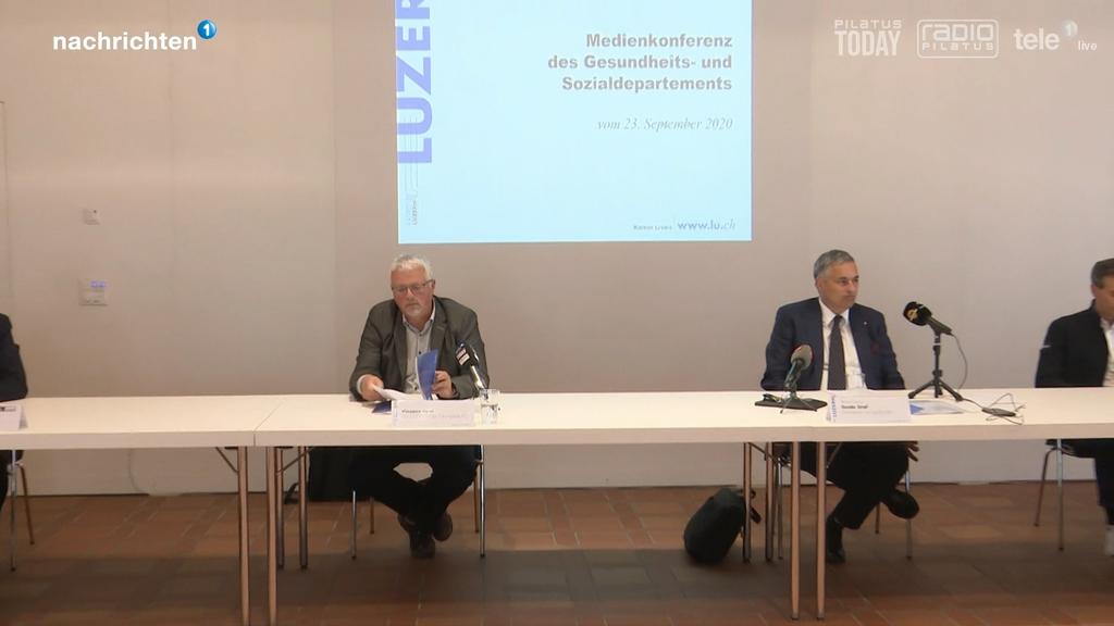 Der Kanton Luzern informiert über Grossveranstaltungen ab dem 1. Oktober