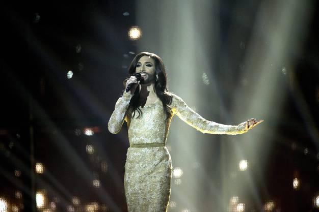 Conchita Wurst war für Österreich am Eurovision Song Contest dabei mit dem Lied «Rise like a Phoenix».