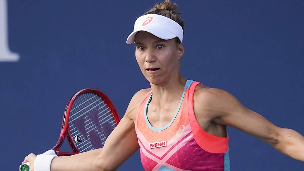 Viktorija Golubic setzt ihren Siegeszug fort